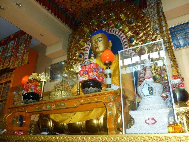 Dharamshala budhistický chrám