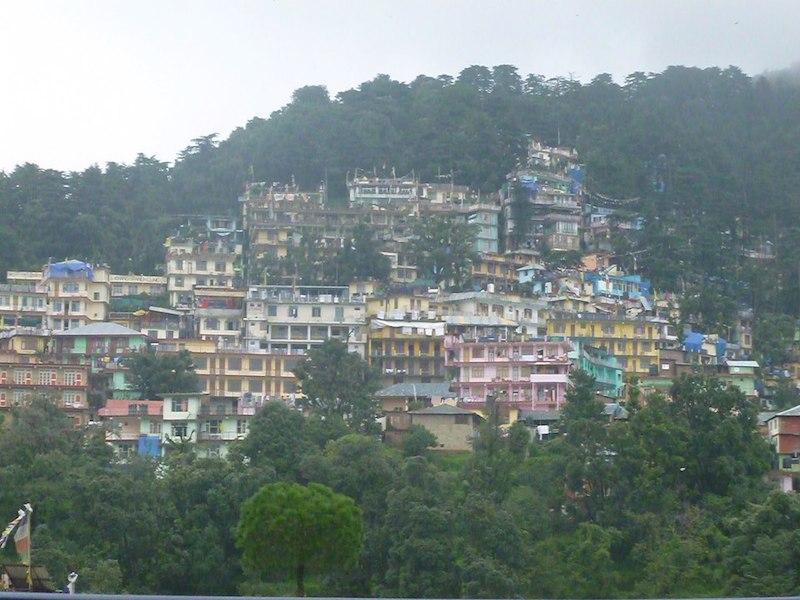 Pohled Dharamshala India