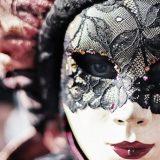Karneval Benátky Itálie