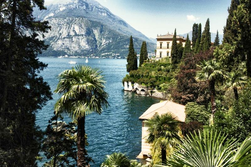 Italské jezera dovolená