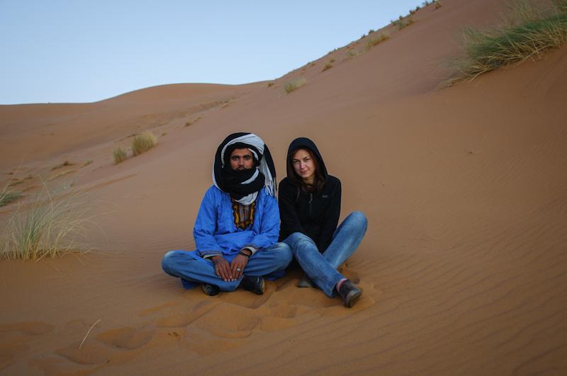 Poušť Merzouga Maroko