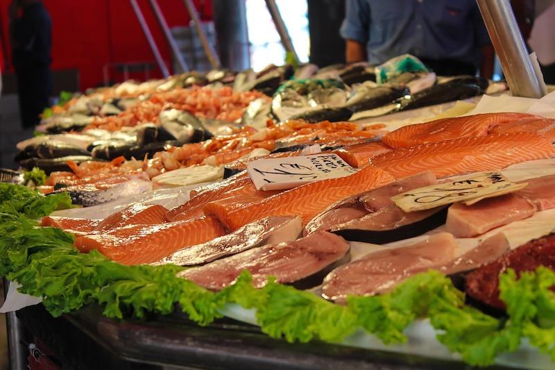 Trh s rybami Benátky