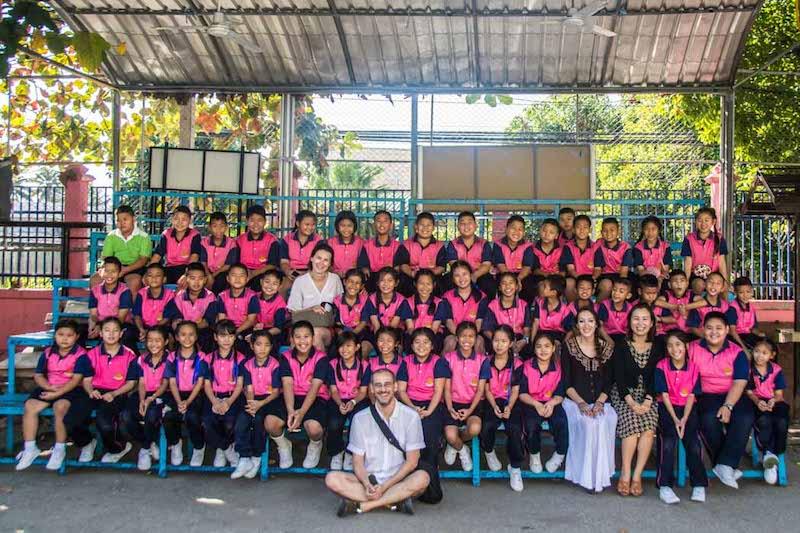 Základní škola Chiang Mai Thajsko