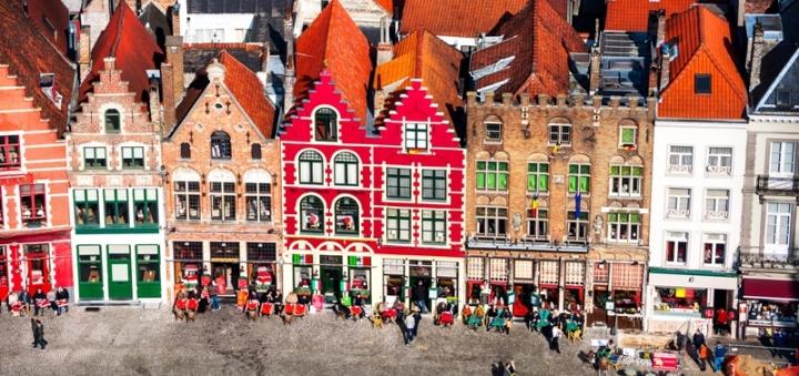 Brugy náměstí markt