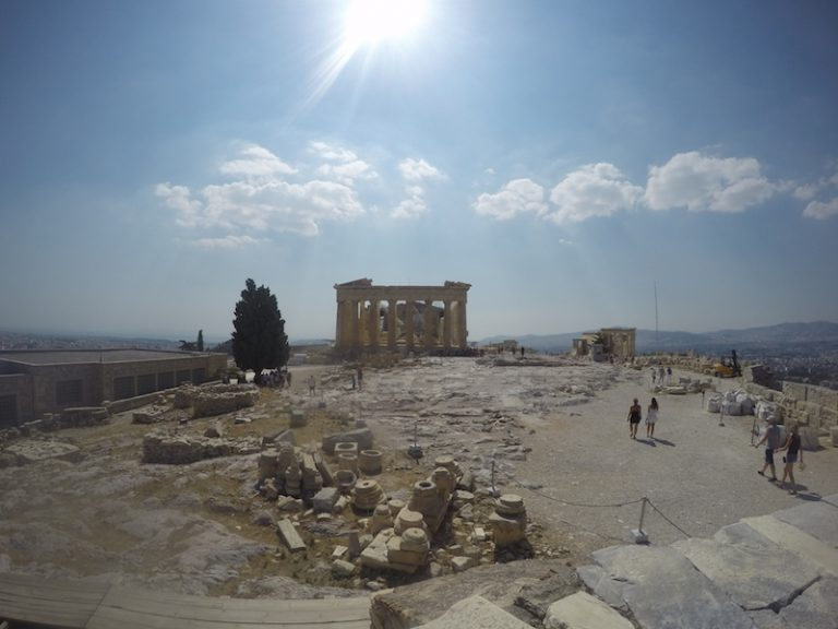 Athény Akropole