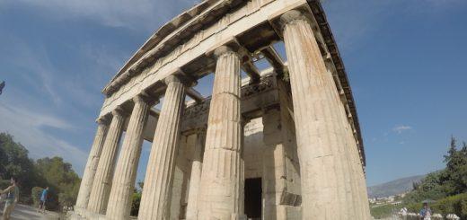 Chrám boha Hefaista Athény