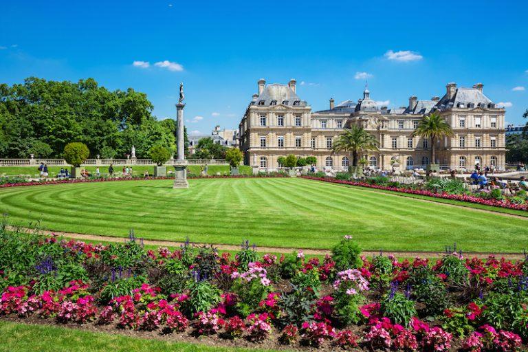 Jardin du Luxemburg Paříž