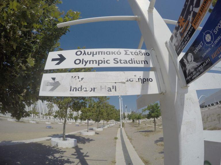 Olympijský stadion v Athénách