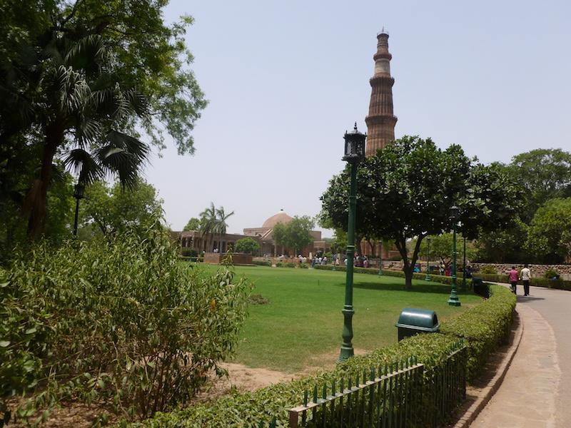 Qutub Minar Nové Dillí
