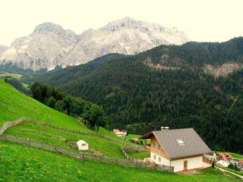 Vesnice La Val v Tyrolsku