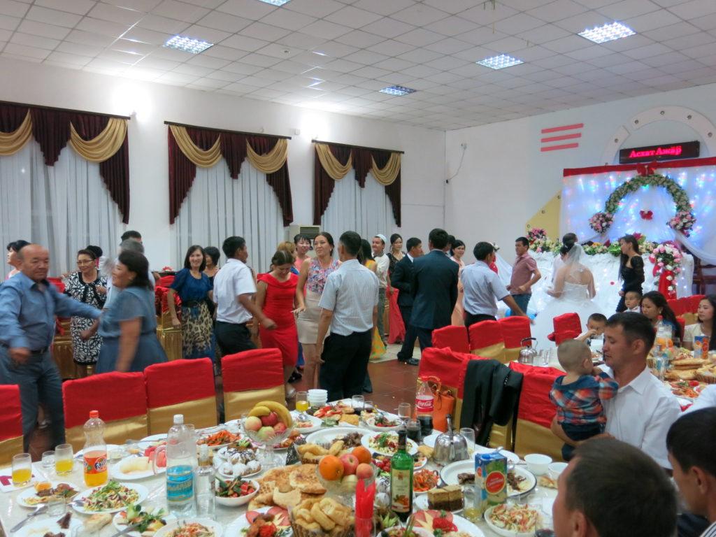 Svatba v Kazachstánu