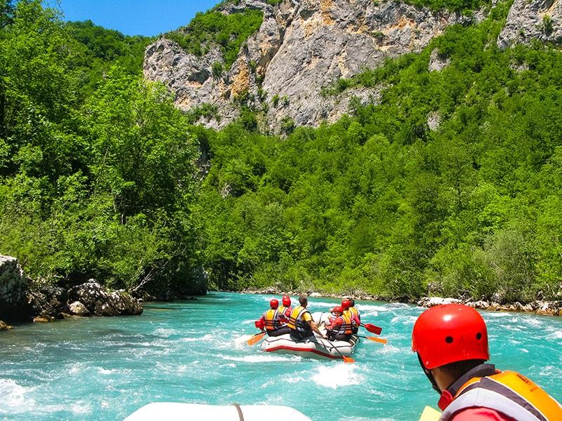 Rafting řeka Tara