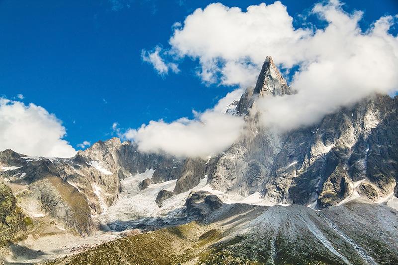 Túra okolo Mont Blanc