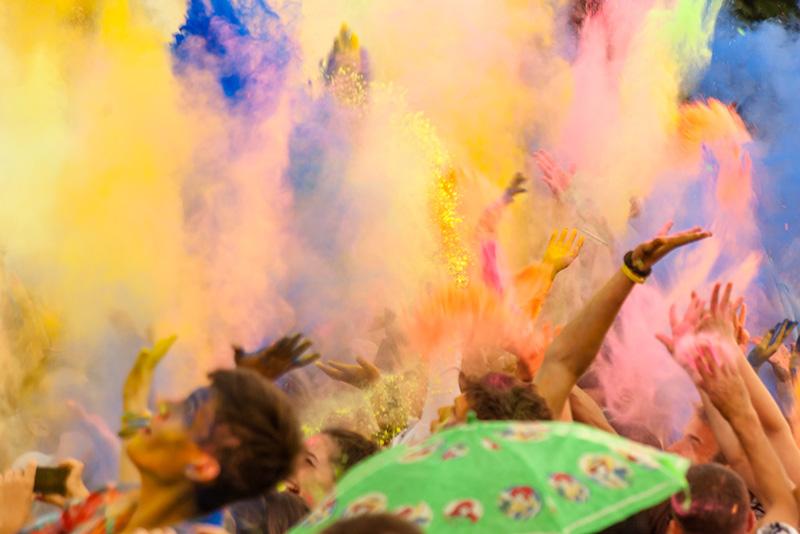Indie svátek Holi