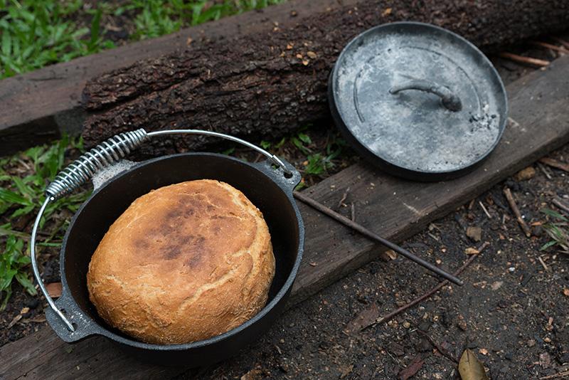 Damper Austrálie chléb