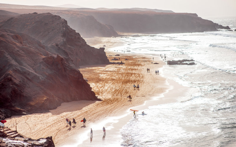 Pobřeží Fuerteventura