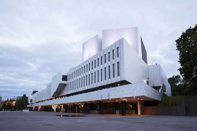 Hala Finlandia od Alvara Aalta