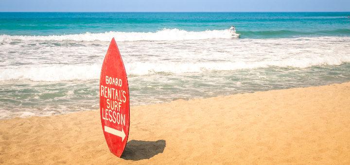Surfové lokality v Evropě