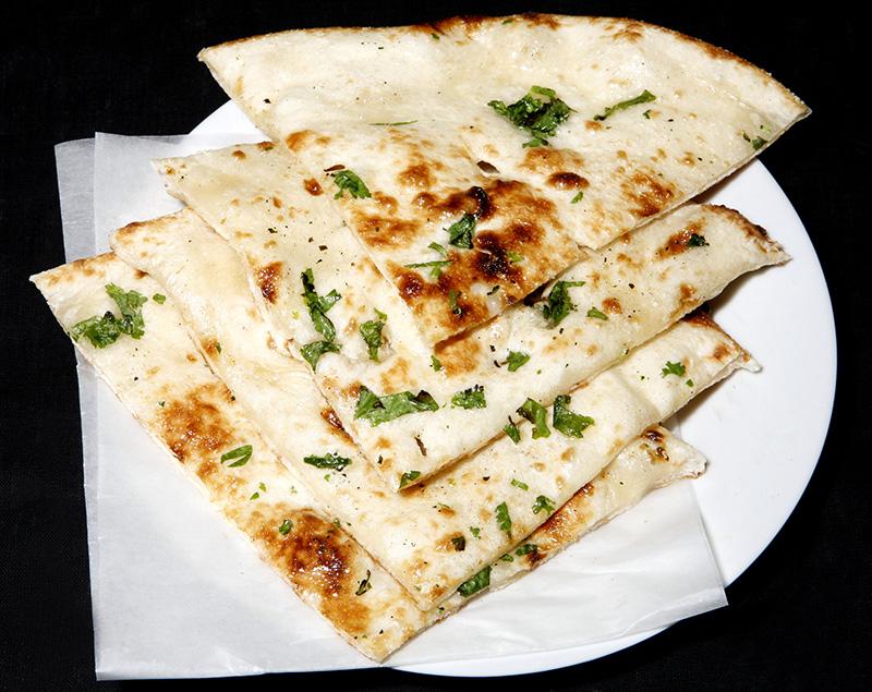 Naan chléb Indie