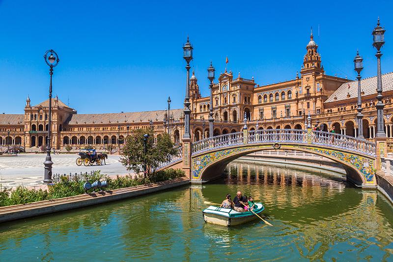 Sevilla španělské náměstí
