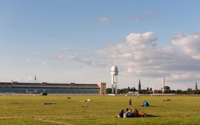 Tempelhof Park Berlín