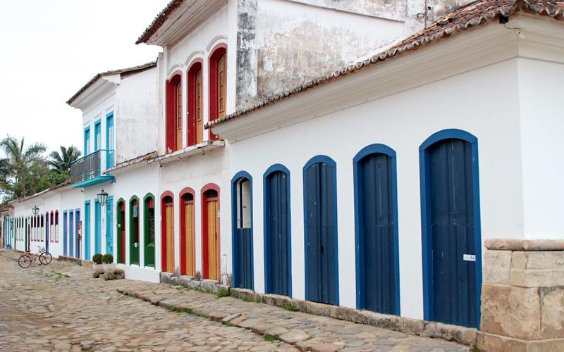 Brazilské městečko Paraty
