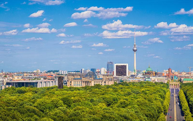 Panorama Berlín