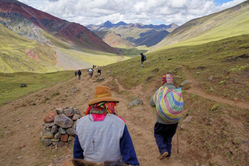 Domorodci v horách
