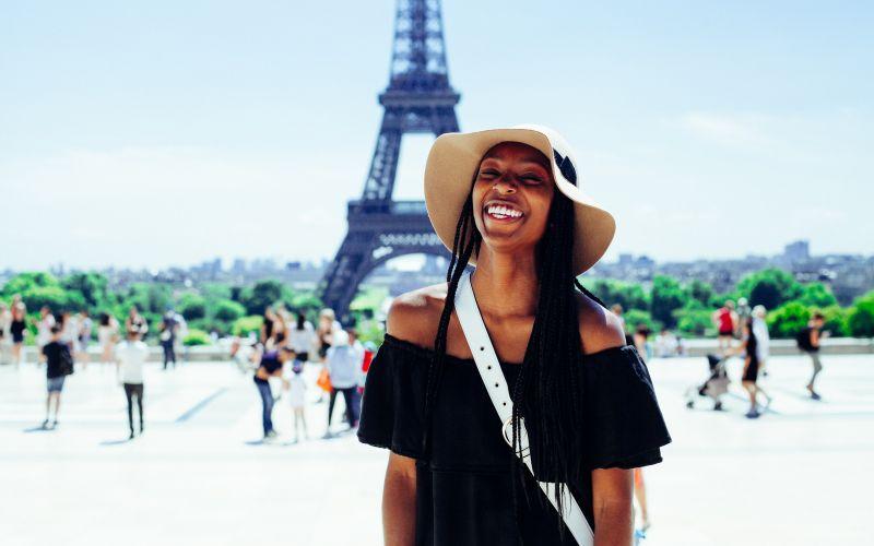 Ženské sólo cestování v Paříži