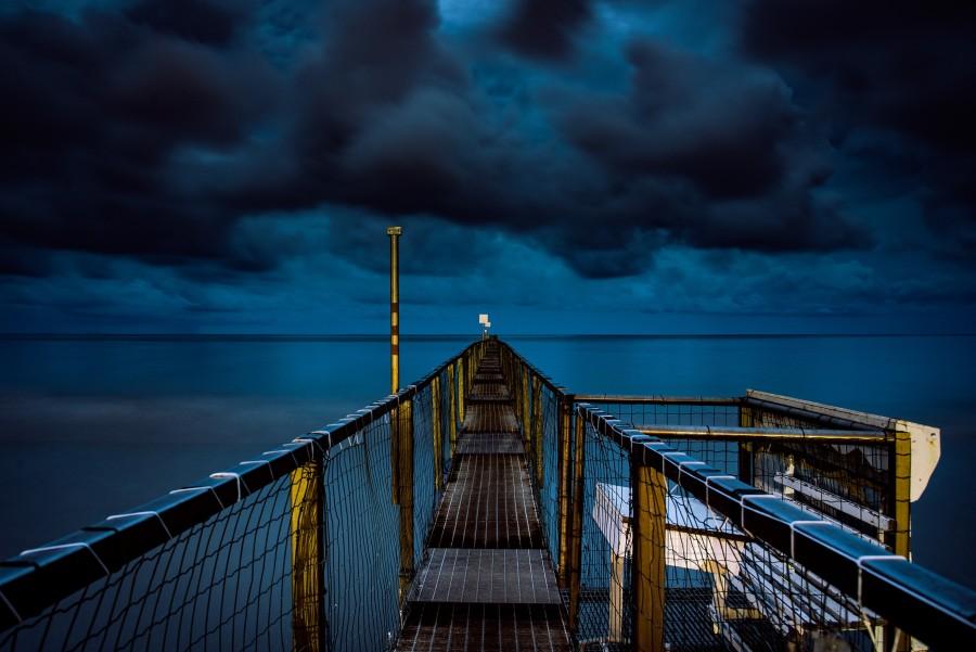 Rimini v noci
