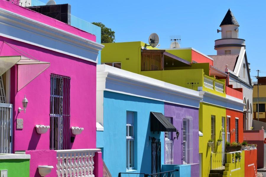 Bo Kaap v Kapském Měste