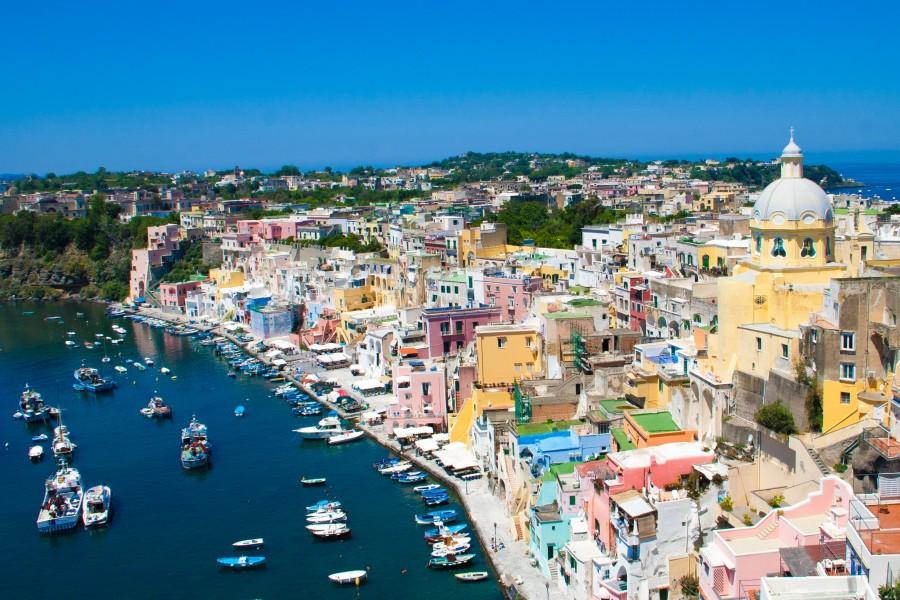 Italský ostrov Procida