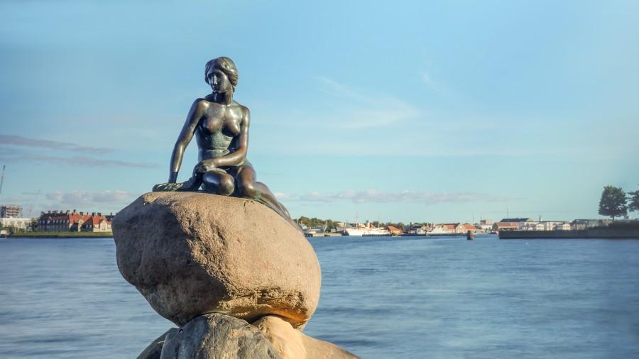 Malá mořská panna v Kodani