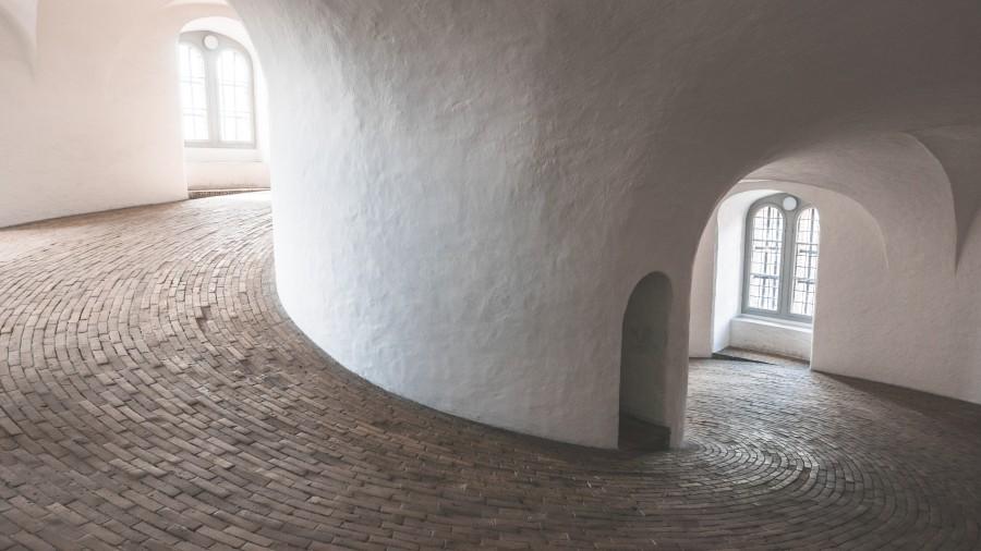 Věž Rundetårn v Kodani