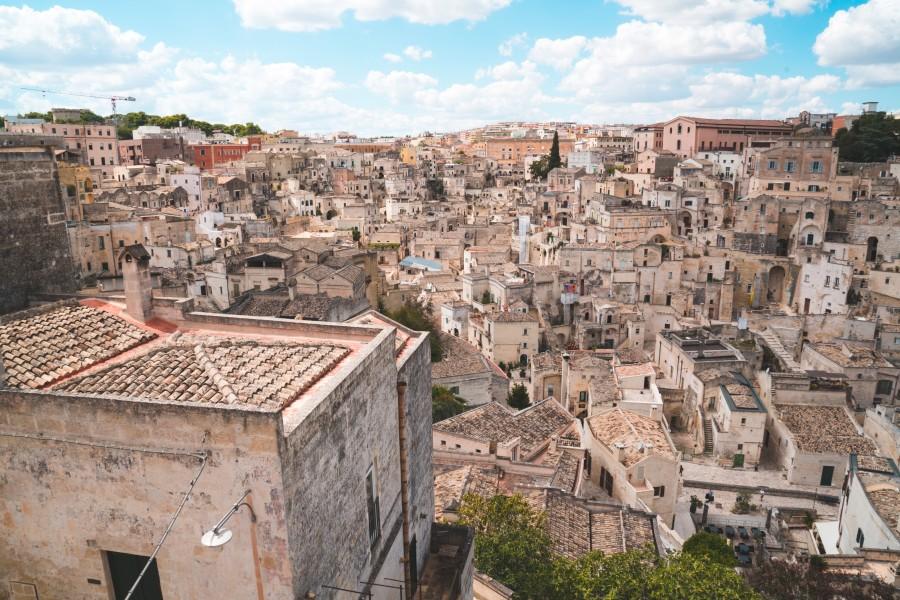 Italské město Matera