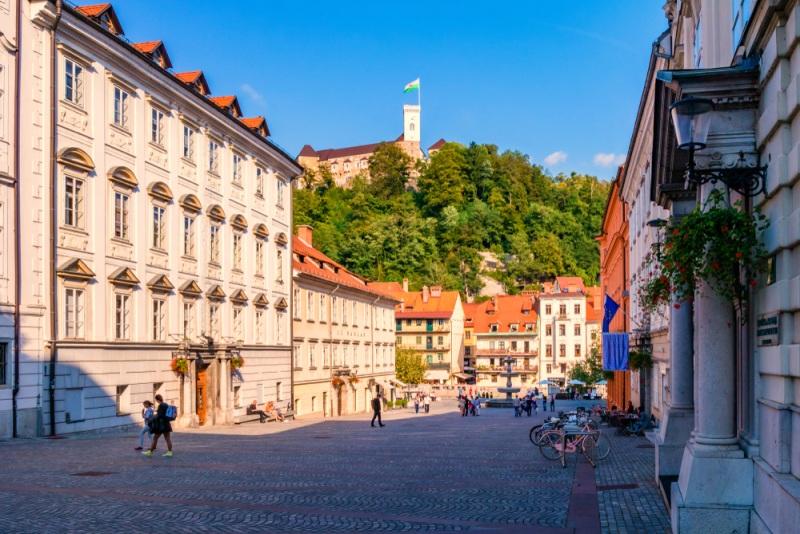 Lublaň - Slovinsko