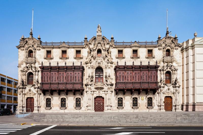 Arcibiskupský palác v Limě