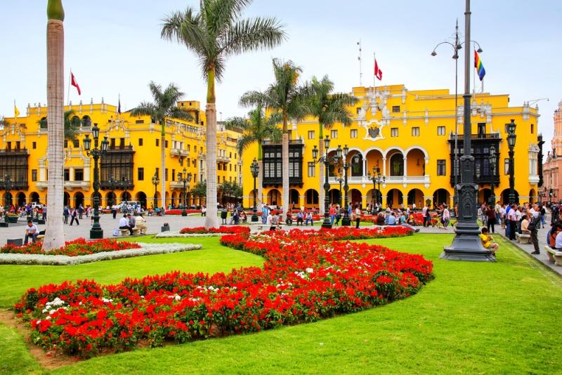Hlavní město Peru Lima