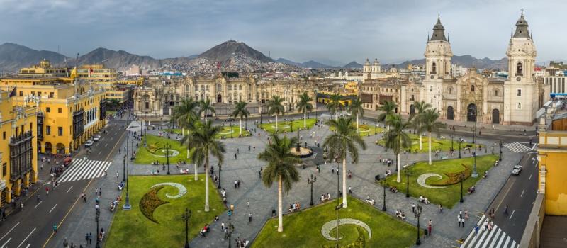 Naměstí v Limě