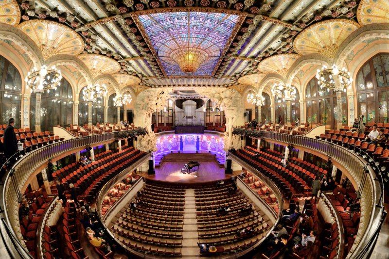 Palác katalánské hudby v Barceloně